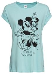 T-shirt bonprix morski pastelowy