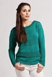Sweter mkm tatiana zielony