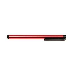 Pióro dotykowe, pojemnościowe, metal, czerwony, do ipad i tableta