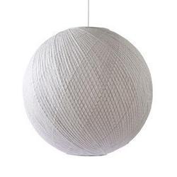 Hkliving :: lampa wisząca bambus biała 80 cm