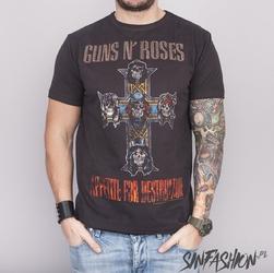 Koszulka amplified guns n roses clasic diamante