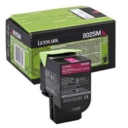 Toner oryginalny lexmark 802sm 80c2sm0 purpurowy - darmowa dostawa w 24h