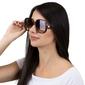 Okulary damskie przeciwsłoneczne panterka brązowe