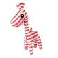 Grzechotka - przytulanka - czerwona żyrafa