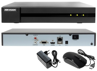 Zestaw do monitoringu ip sklepu, hurtowni, magazynu hikvision hiwatch rejestrator ip hwn-4116mh + 12x kamera 4mp hwi-b140h-m + akcesoria