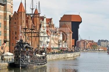 Fototapeta stare miasto w gdańsku