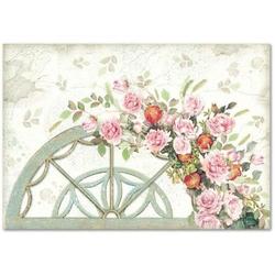 Papier ryżowy Stamperia 48x33 cm róże