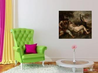 pasterz i nimfa - tycjan ; obraz - reprodukcja