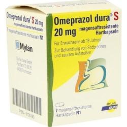 Omeprazol dura s 20 mg kapseln magensaftr.