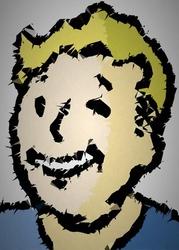 Polyamory - vault boy, fallout - plakat wymiar do wyboru: 29,7x42 cm