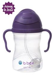 Ulepszony innowacyjny kubek-niekapek b.box - winogronowy