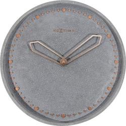 Zegar ścienny cross szary