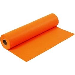 Filc kolorowy 1,5 mm - 45100 cm pomarańczowy - pom