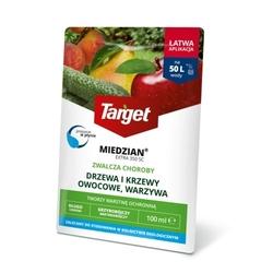 Miedzian extra 350 sc – zwalcza choroby roślin – 100 ml target