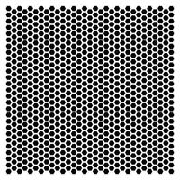 Szablon ozdobny 15,2x15,2 cm małe plastry miodu - mpm