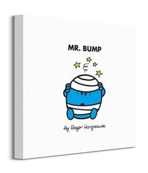 Mr men mr bump - obraz na płótnie