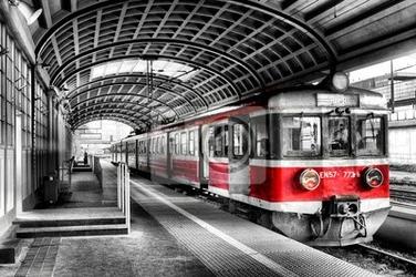 Fototapeta pociąg