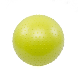 Piłka gimnastyczna z masażem vivo 55cm lime fa004