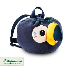 plecak - worek pluszowy tukan pablo, lilliputiens