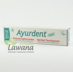 Ayurdent 20 ziół - łagodna pasta do zębów z neem i triphalą  75 ml premium maharishi ayurveda