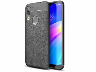 Etui Alogy Leather Armor do Xiaomi Redmi 7 czarne + Szkło Alogy