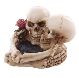Popielniczka quot;miłość po gróbquot; dark gothic