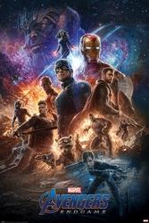Avengers endgame from the ashes - plakat