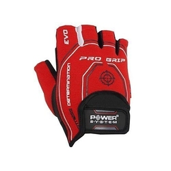 Power system - rękawice - pro grip evo - red