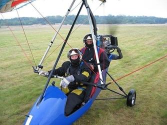 Lot motolotnią dla dwojga - częstochowa - 20 minut