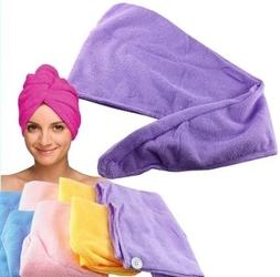Ręcznik na głowę turban do włosów z mikrofibry
