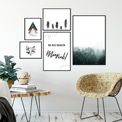 Galeryjka plakatów - trendy art fusion ,  -