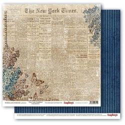 Papier 30x30cm WORDS LIVE FOREVER - New York Headl - 02
