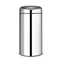 Brabantia - kosz touch bin® de luxe - wiaderko plastikowe - 45l - stal polerowana