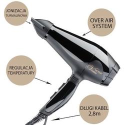 Moser ventus tourmalin 2200w suszarka do włosów turmalinowa