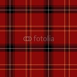 Obraz na płótnie canvas trzyczęściowy tryptyk czerwony wzór kratę