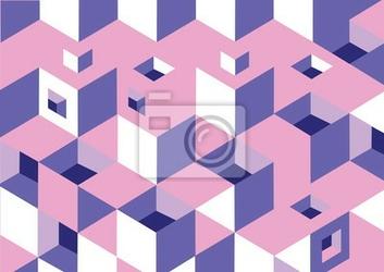Naklejka текстура, фон - кубики