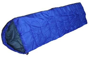 Śpiwór z kapturem niebieski