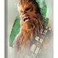 Star Wars: The Last Jedi Chewbacca Brushstroke - obraz na płótnie