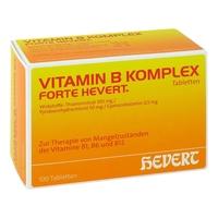 Vitamin b komplex forte hevert tabletki