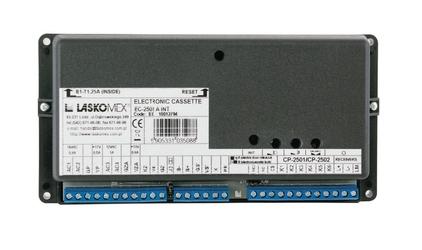 Laskomex ec-2502ar kaseta elektroniki z funkcją ładowania akumulatora oraz obsługą rfid i dallas - szybka dostawa lub możliwość odbioru w 39 miastach