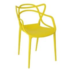 Krzesło lexi żółte insp. master chair - żółty