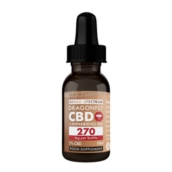 Olej kanabinoidowy o stężeniu cbd 3 - 10 ml - 270 mg