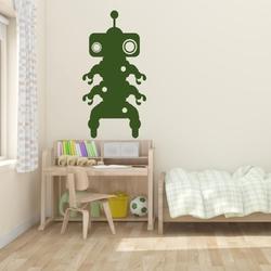Szablon do malowania dla dzieci robot 18sm48