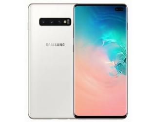 Samsung Smartfon GALAXY S10+ Dual Sim 1TB Biały ceramiczny