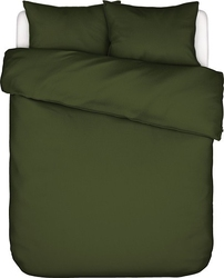 Pościel minte zielona 200 x 220 cm z 2 poszewkami na poduszki 60 x 70 cm