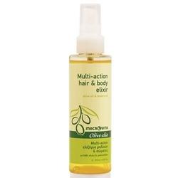 Macrovita olive-elia multi-action hair  body elixir eliksir do włosów i ciała z bio-oliwą i olejem mastyksowym 150ml