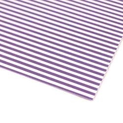 Papier ozdobny w paski 300g 24x34 cm - fioletowy - fioletowy