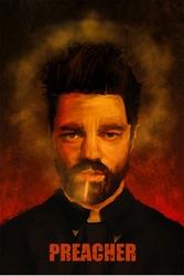 Preacher - plakat premium wymiar do wyboru: 30x40 cm