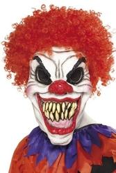 Maska zły klaun clown halloween straszny