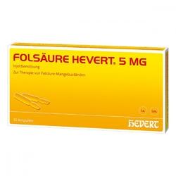 Folsaeure hevert 5 mg amp.